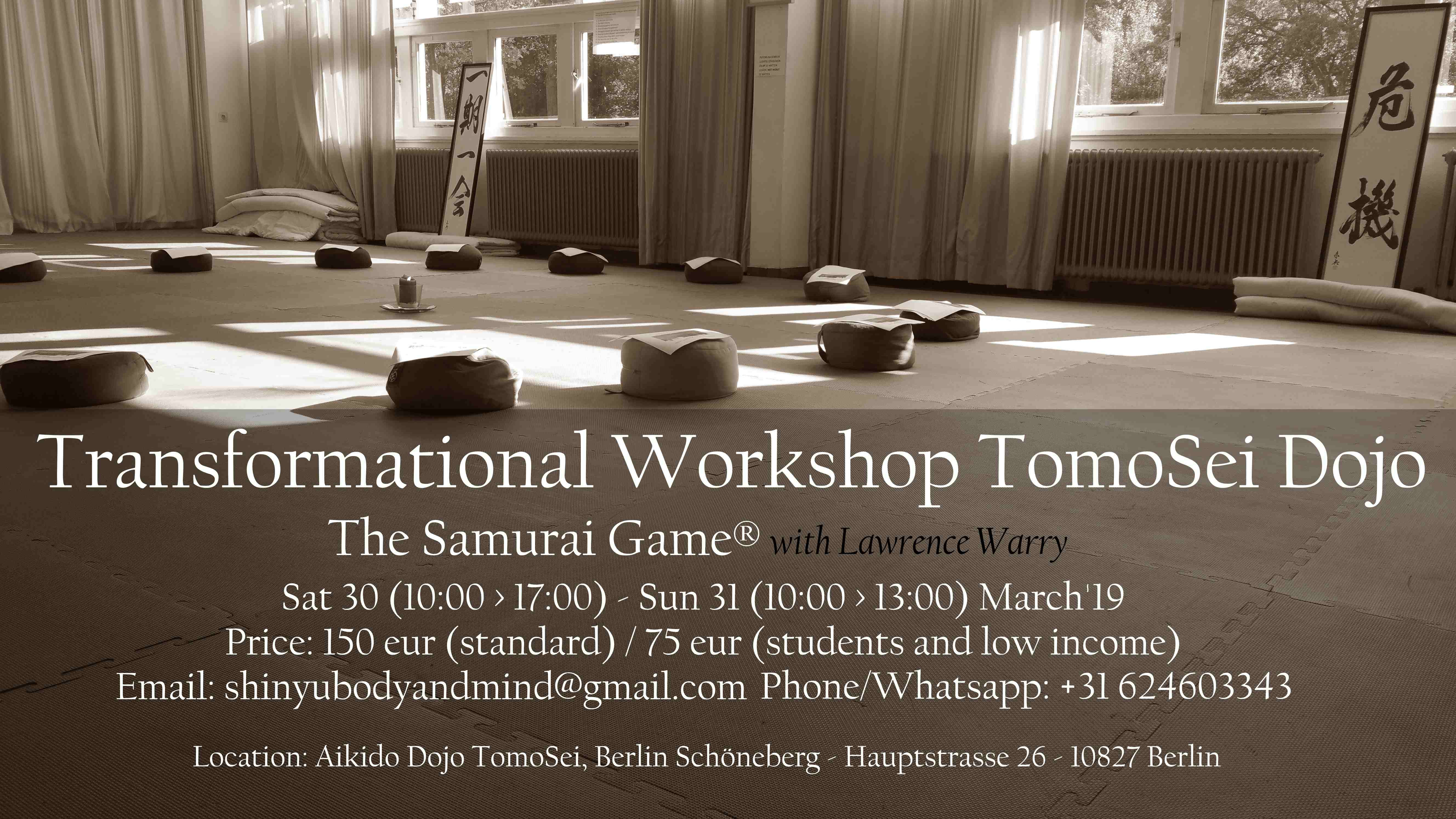 samurai game berlin
